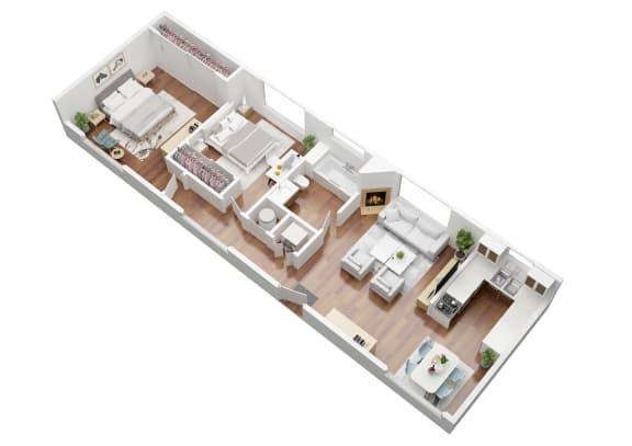 Floor Plan  Birch Floorplan