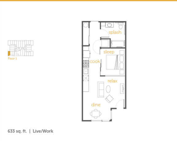 Floor Plan  Live Work S