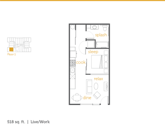 Floor Plan  Live Work L