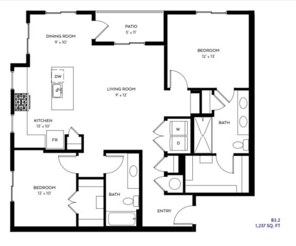Floor Plan  B3-2