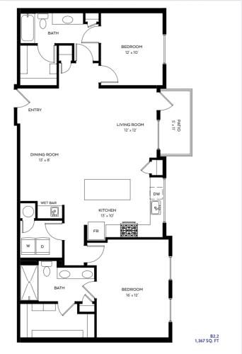 Floor Plan  B2-2
