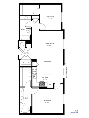 Floor Plan  B2-0