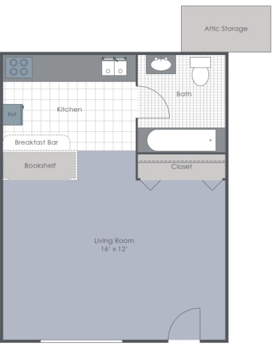 Floor Plan  Studio floor plan layout