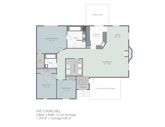 Floor Plan  The Churchill