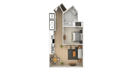 Studio 1 2 3 Bedroom Apartments In Atlanta The Point At Westside