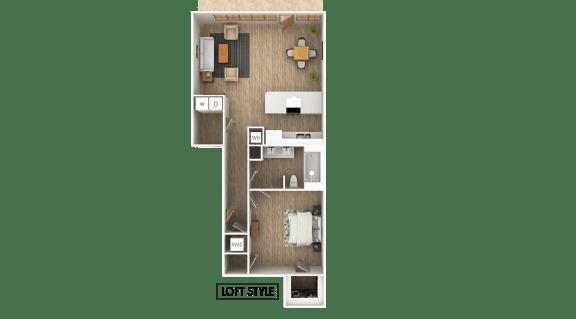 Floor Plan  Loft A Floor Plan