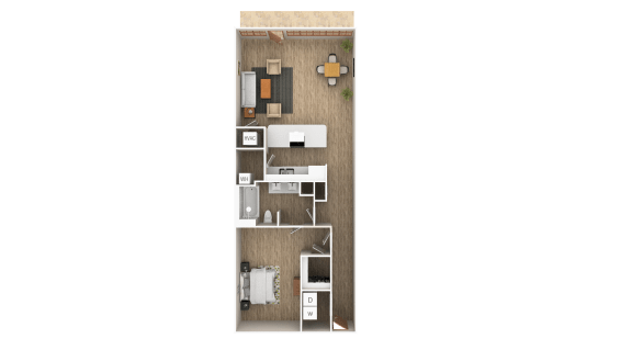 Floor Plan  Loft - B Floor Plan