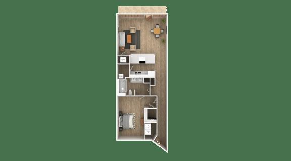 Floor Plan  Loft - C Floor Plan