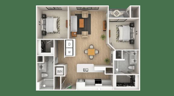 Floor Plan  Peachtree A