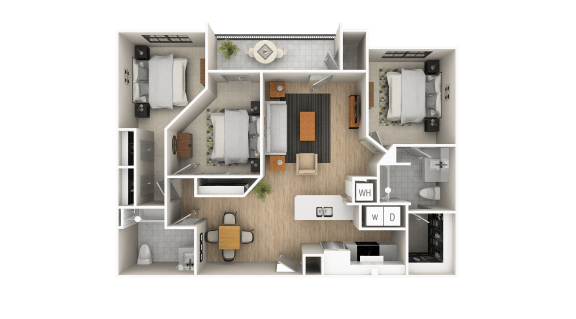 Floor Plan  Courtland Floor Plan
