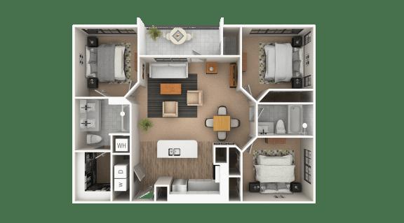 Floor Plan  Piedmont Floor Plan