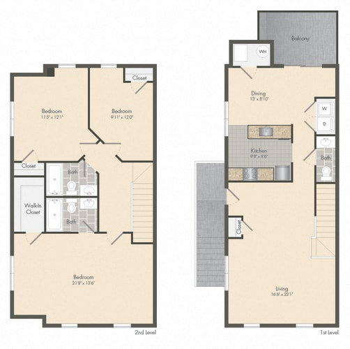 Floor Plan  Boyd - Townhome