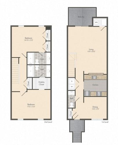 Floor Plan  Fairfax - Townhome