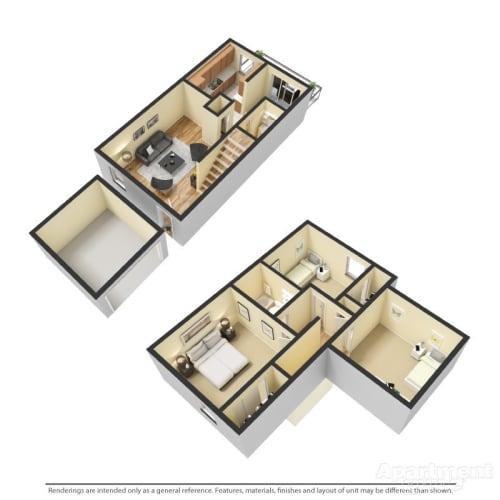Floor Plan  A1 - Franklin