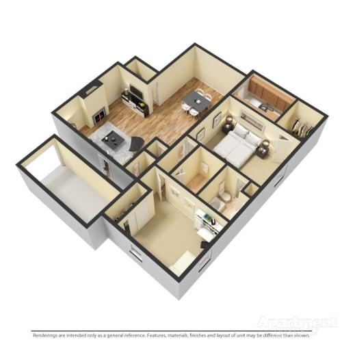 Floor Plan  B4 - Danbury and Monticello