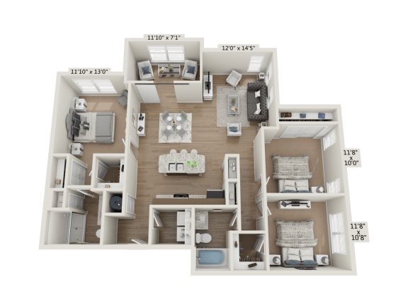 Floor Plan  3BR