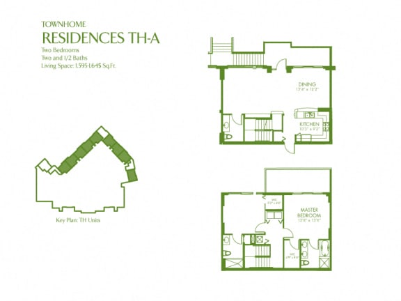 Floor Plan  Townhome Residences TH-A