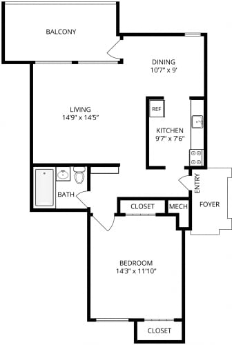 Floor Plan  Sierra