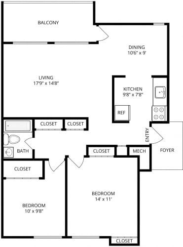 Floor Plan  Rome