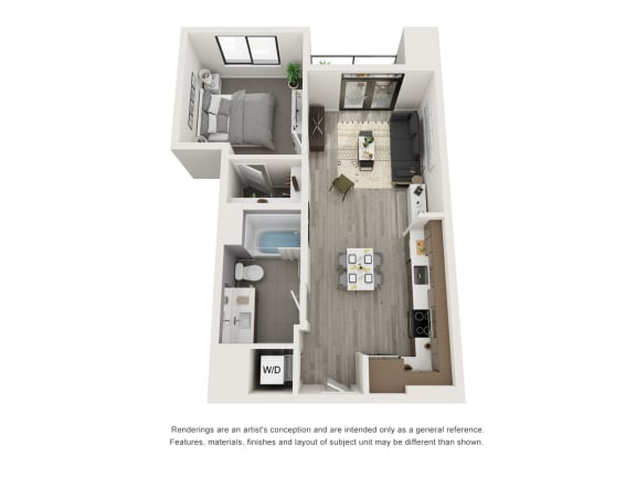 Floor Plan  4th and J A2 A9