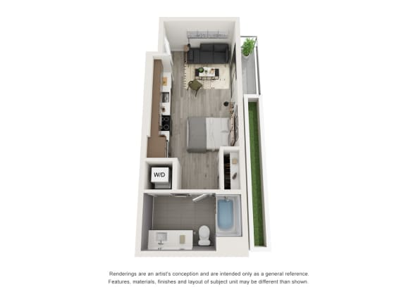 Floor Plan  4th and J S6