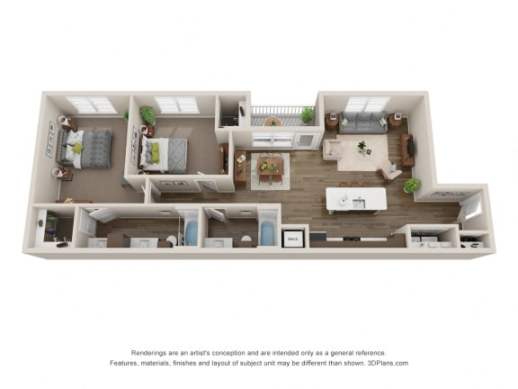 Floor Plan  Sagebrush, opens a dialog.