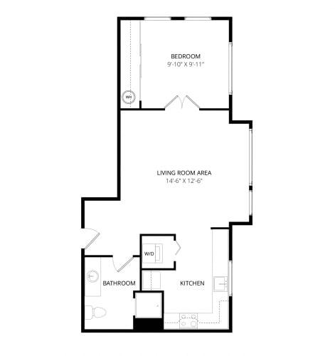 Floor Plan  Aventine Apartments Napoli Floor Plan
