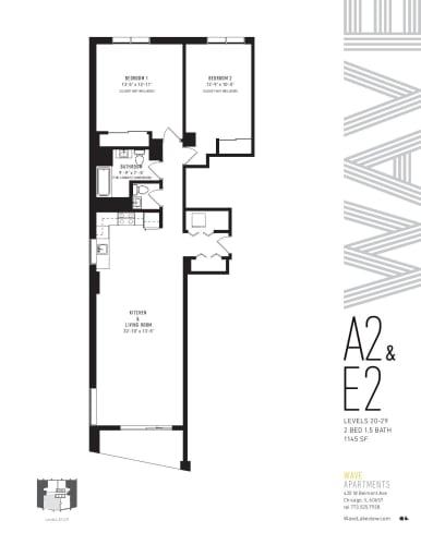 Floor Plan  A2 & E2