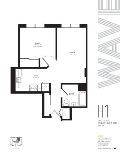 Floor Plan  H1