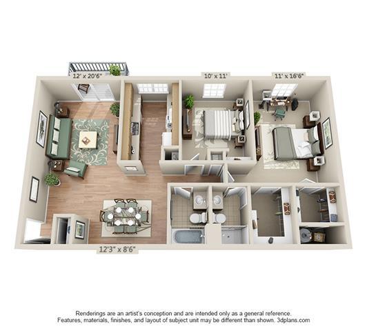 Floor Plan  Plan D
