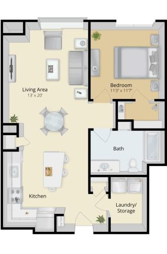Floor Plan  Cirrus Floor plan 1