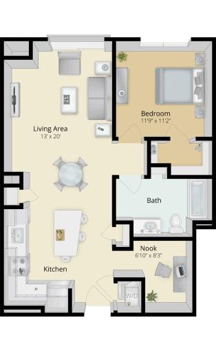 Floor Plan  Cirrus Floor Plan 1A