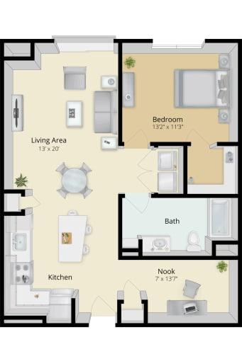 Floor Plan  Cirrus Floor Plan 1B