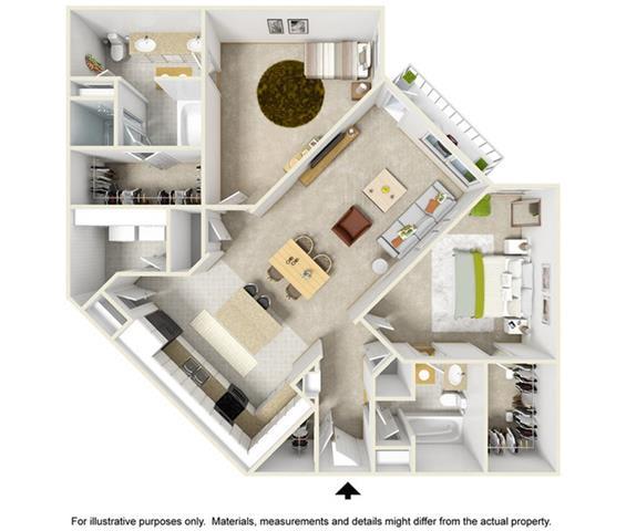 Floor Plan  The Buchanan