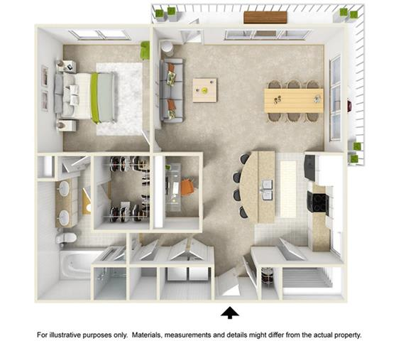 Floor Plan  The Cassidy