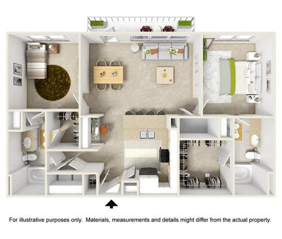 Floor Plan  The Cobblestone