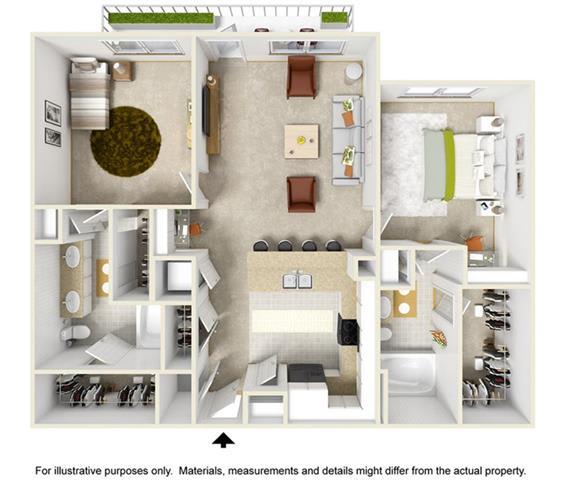 Floor Plan  The Garrison