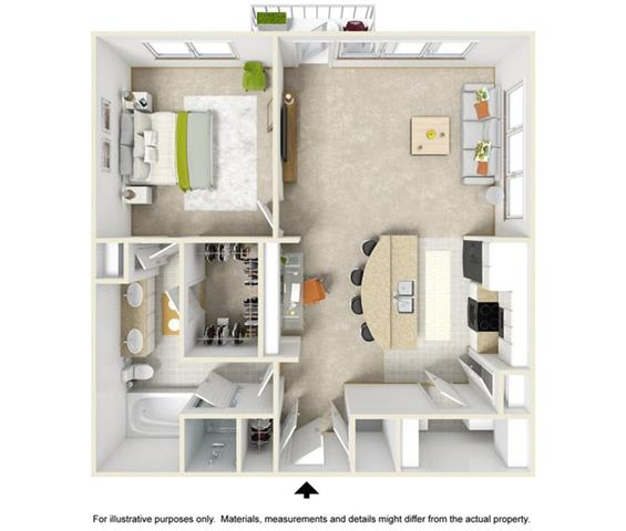 Floor Plan  The Ozark