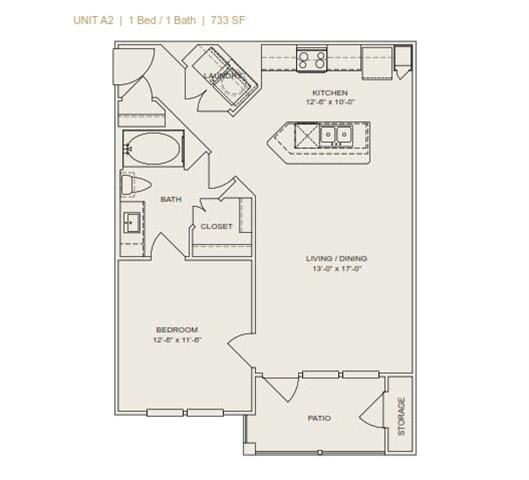 Floor Plan  A2 - Phase II