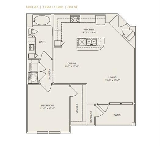 Floor Plan  A5 - Phase II