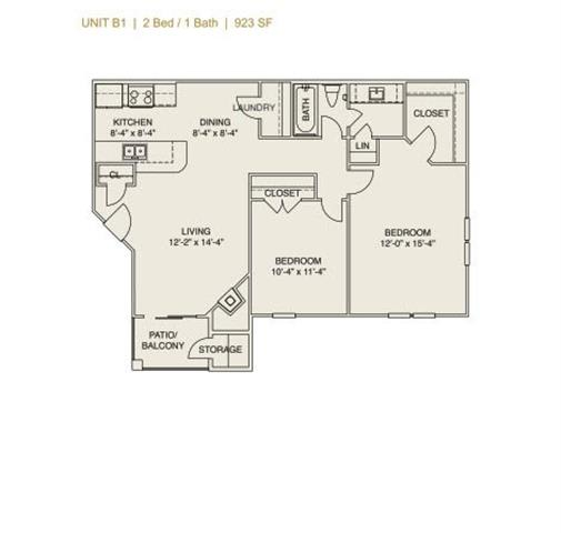 Floor Plan  B1 - Phase I