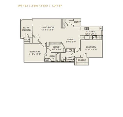 Floor Plan  B2 - Phase I