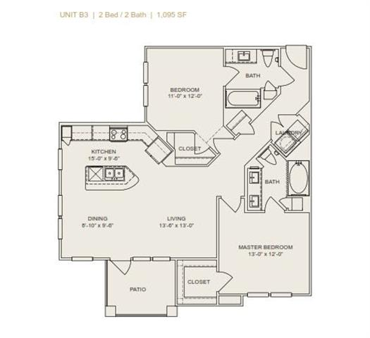 Floor Plan  B3 - Phase II