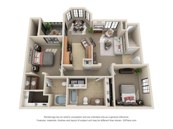 Floor Plan  Queen