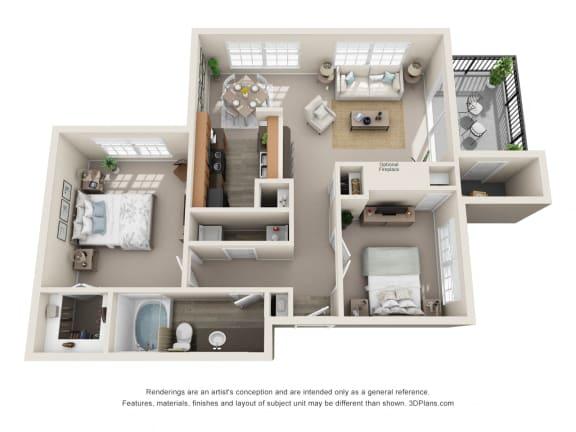 Floor Plan  Seville