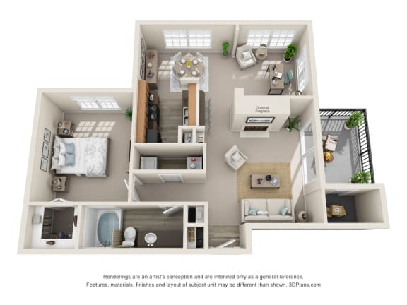 Floor Plan  Toledo