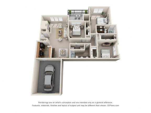 Floor Plan  Barcelona