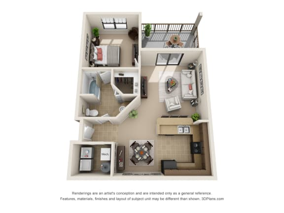 Floor Plan  The Etesian