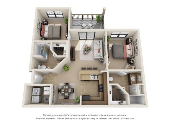 Floor Plan  The Keanu