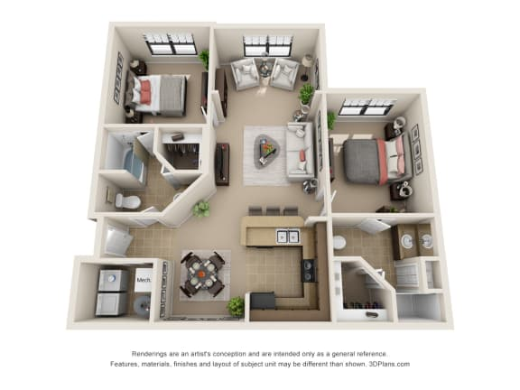 Floor Plan  The Kona